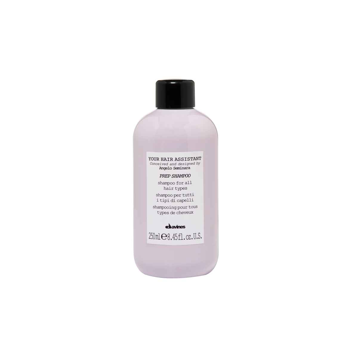 Davines Prep Shampoo 250 ml   Hidratación y Nutrición