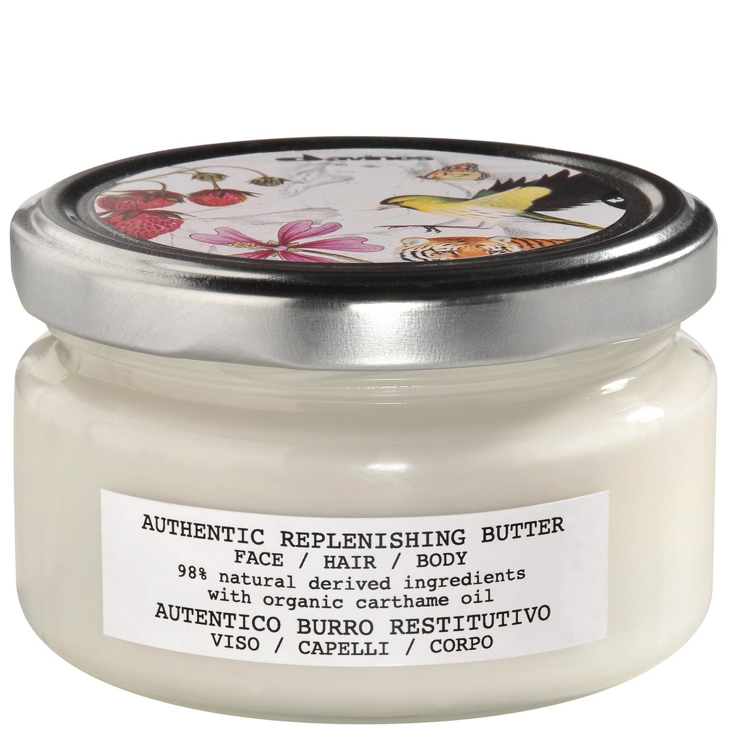 Davines Authentic Replenishing Butter 200 ml   98% Natural