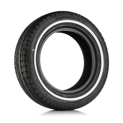 Vitour Formula X Valkosivu 10 mm 165/70-13 T