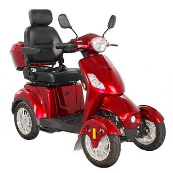 Kontio Motors Silverfox Four, Metallic Red
