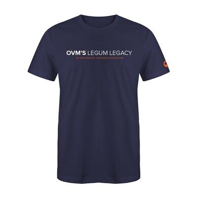 Navy OVM's Legum Legacy T-Shirt