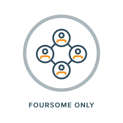Foursome Only