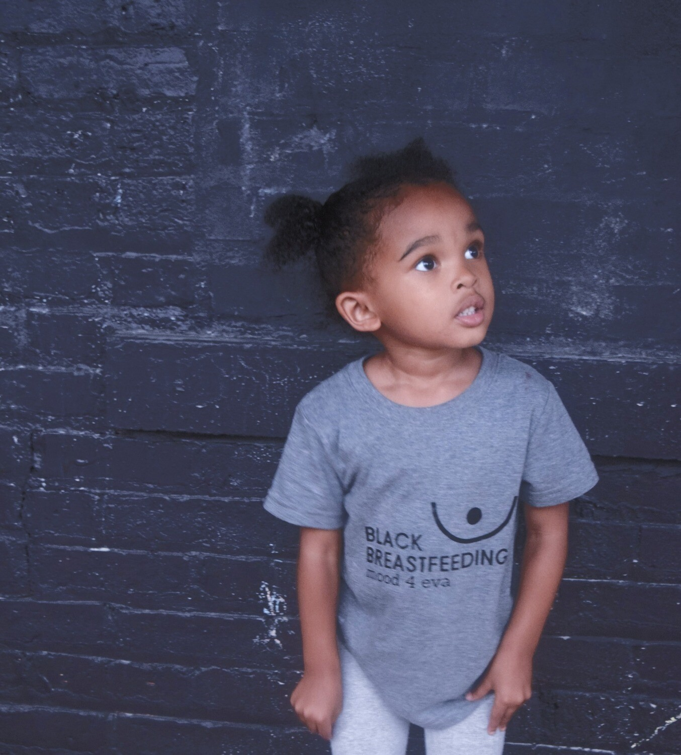 Toddler Black Breastfeeding Shirt