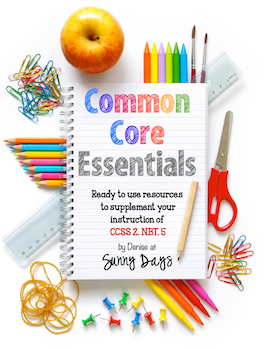 Common Core Essentials for 2.NBT.5