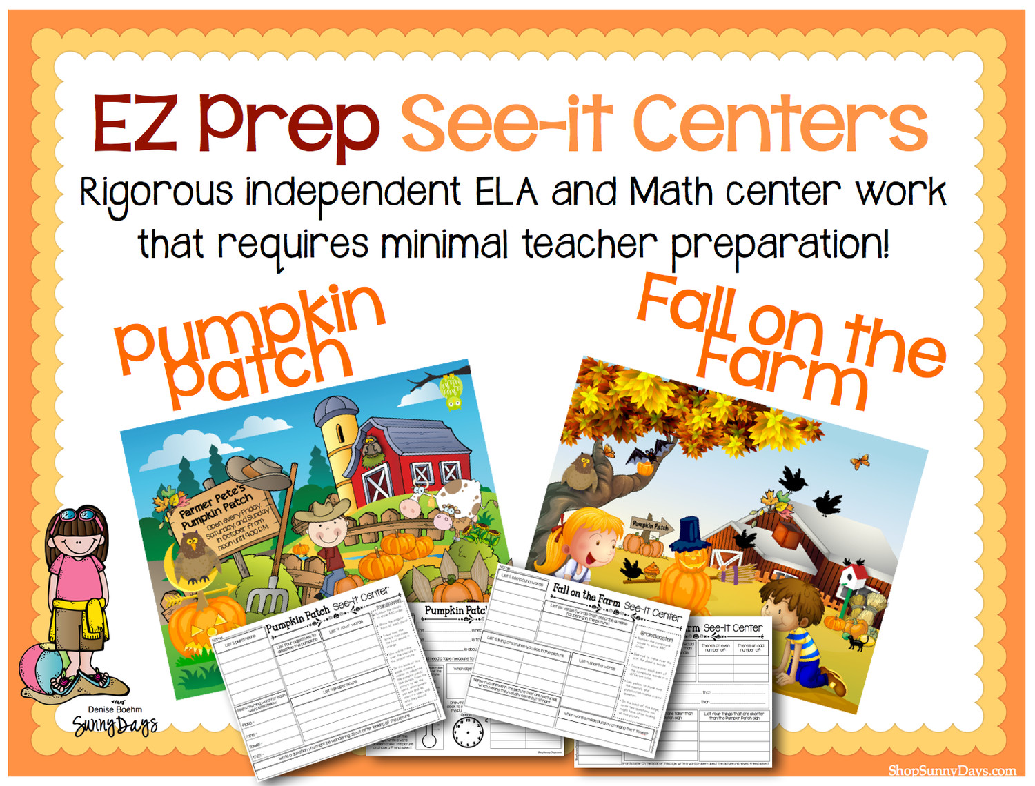 EZ Prep See-it Center for Fall