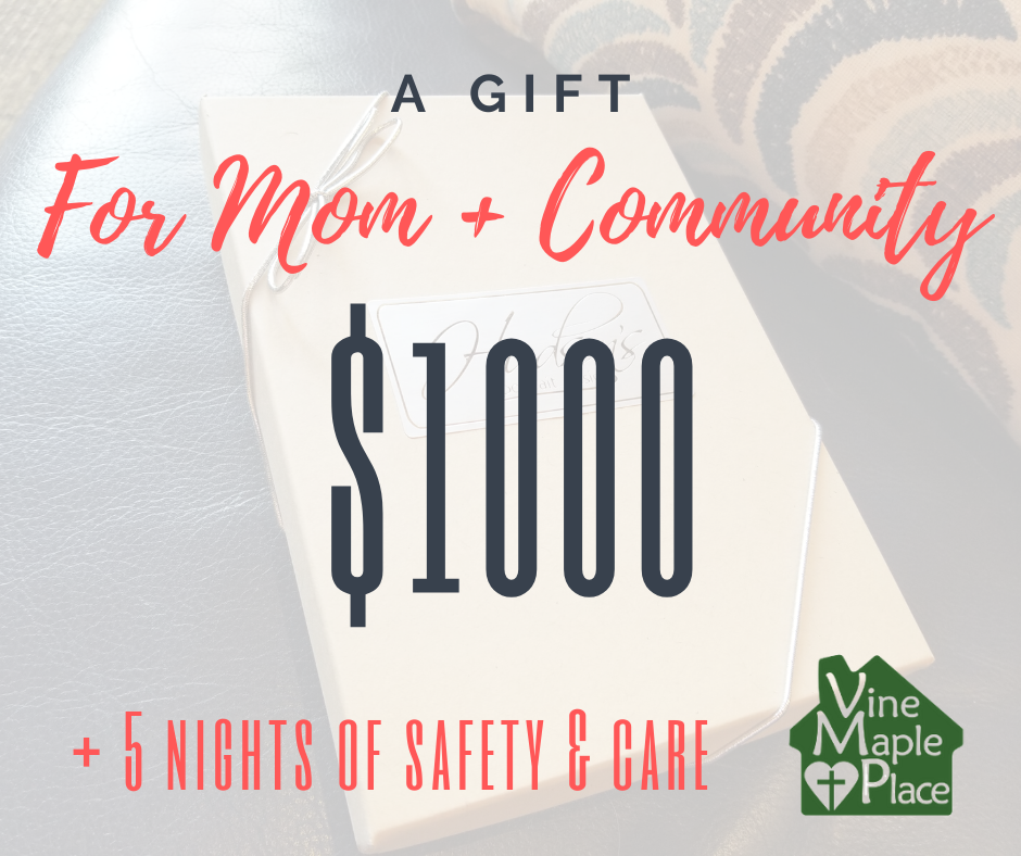 $1000 Gift Certificate = 5 Nights of Safety!
