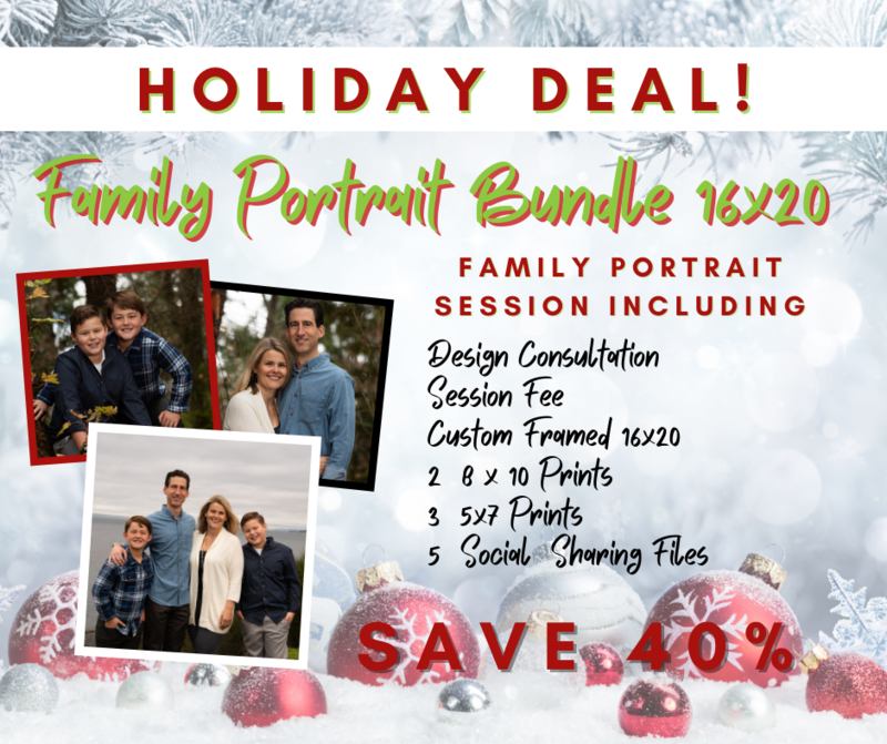 Hudson's 16x20 Session Bundle - Save $783!