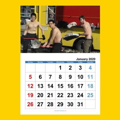 Guys of CNR Guys Calendar