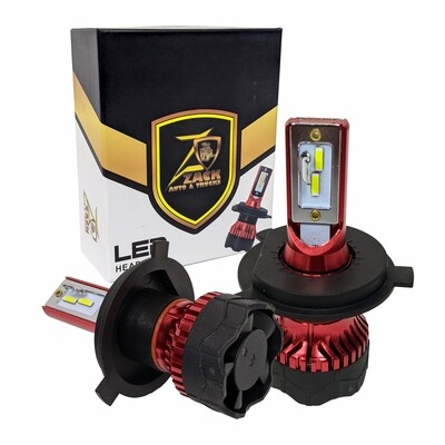 LED Headlight Bulbs 55W High Power 12000LM Extremely Bright 6000KA (Pack of 2)