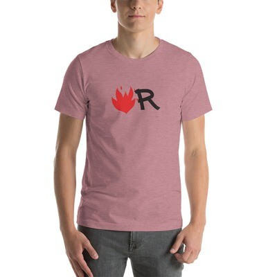 Flame Short-Sleeve Unisex T-Shirt