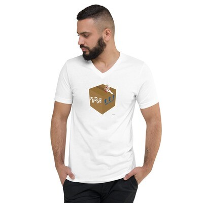 Fudge Unisex Short Sleeve V-Neck T-Shirt