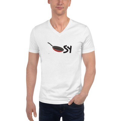 Pan Unisex Short Sleeve V-Neck T-Shirt