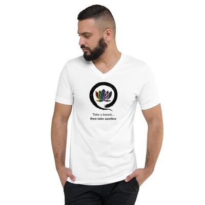 Queer Zen 2 Unisex Short Sleeve V-Neck T-Shirt