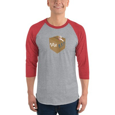 Fudge 3/4 sleeve raglan shirt