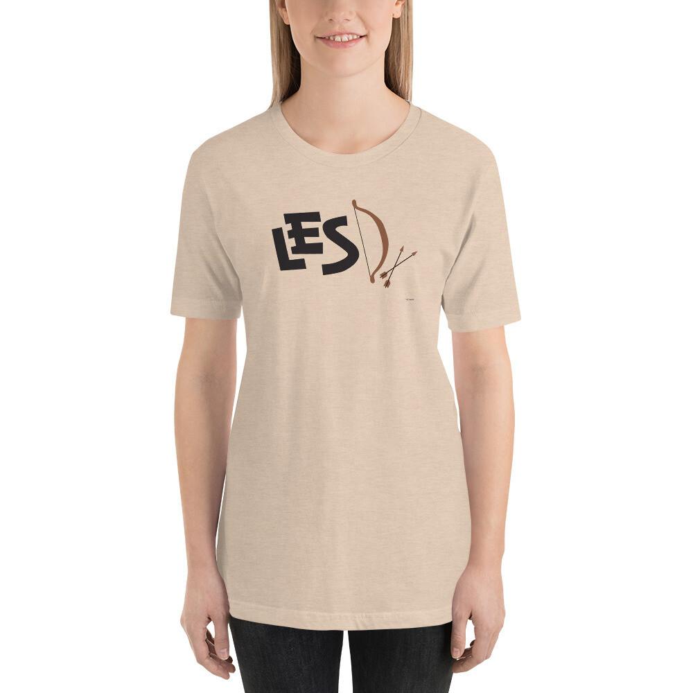 Bow Short-Sleeve Unisex T-Shirt