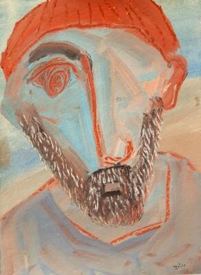 Fadi El Chamaa - 'Man with takieh'