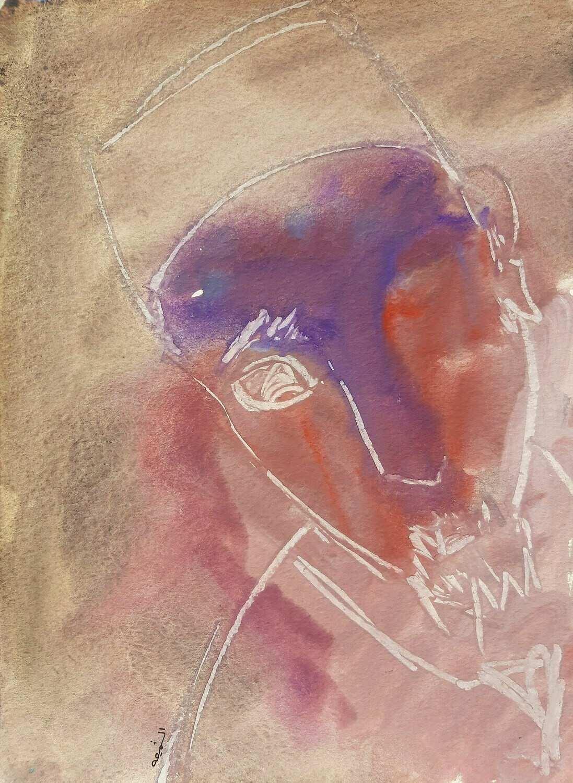 Fadi El Chamaa - 'Man with tarboush II'