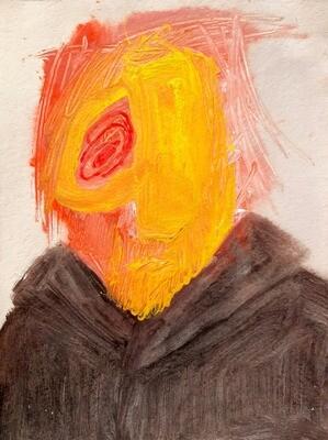 Fadi El Chamaa - 'Man in black raincoat'