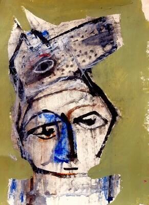 Semaan Khawam - 'Wolf Portrait'
