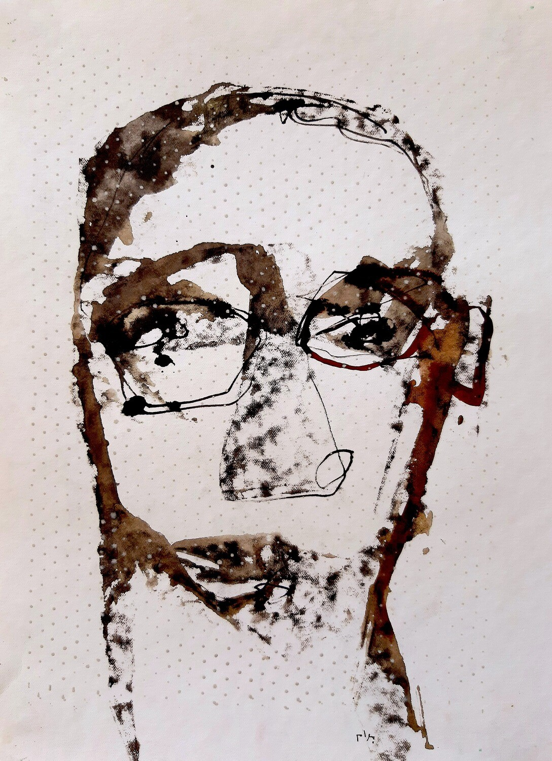 Semaan Khawam - 'Self-portrait'