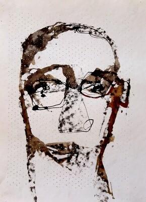 Semaan Khawam - 'Self-portrait'