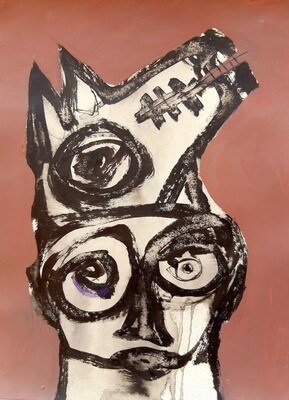 Semaan Khawam - 'Wolf Portrait III'