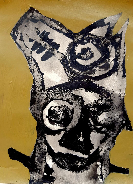 Semaan Khawam - 'Wolf Portrait IV'