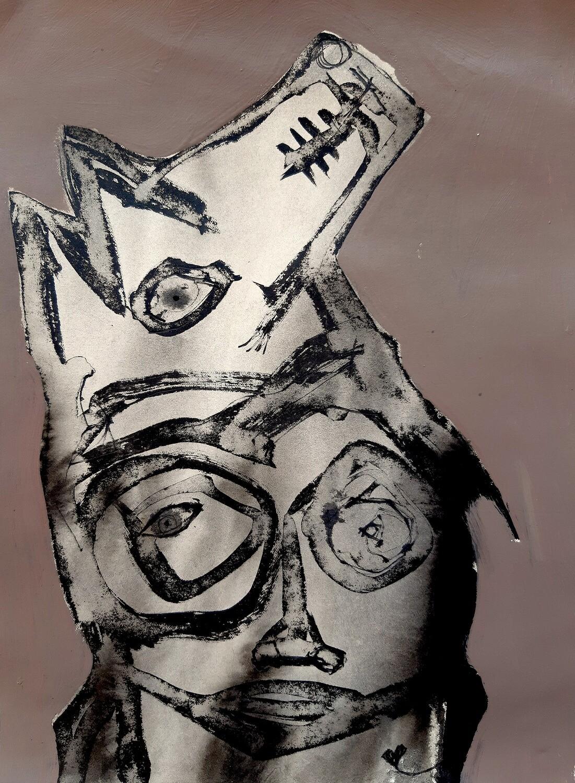 Semaan Khawam - 'Wolf Portrait V'