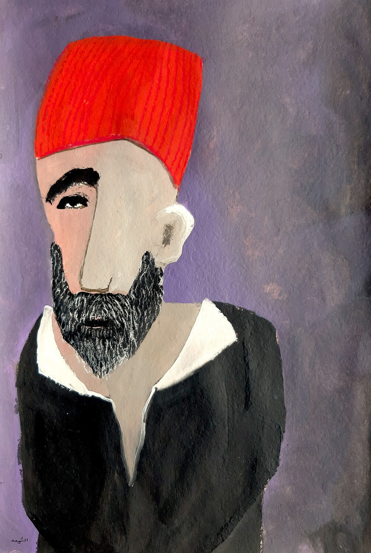 Fadi El Chamaa - 'Man in tarboush'