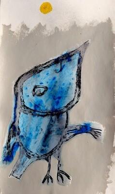 Semaan Khawam - Blue bird