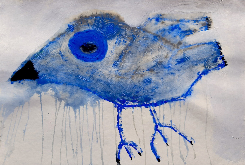 Semaan Khawam - 'Blue bird II'