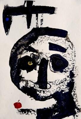 Semaan Khawam - 'Birdman with apple'