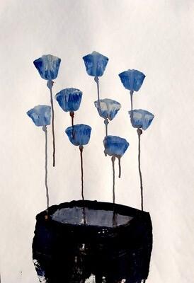 Semaan Khawam - 'Flowers 2'