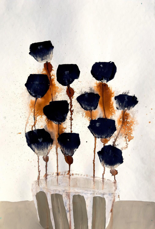 Semaan Khawam - 'Flowers 4'