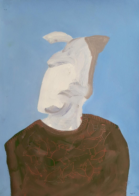 Fadi El Chamaa - 'Man with bird shirt'
