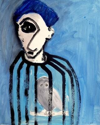 Fadi El Chamaa - 'Man is a cage'
