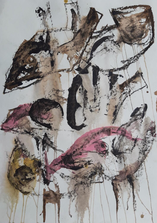 Semaan Khawam - 'Birds Patterns 3'