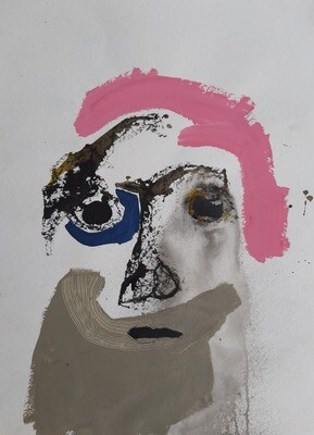 Semaan Khawam - 'Portrait 10'