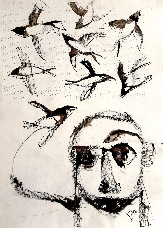 Semaan Khawam - 'Flock of birds'
