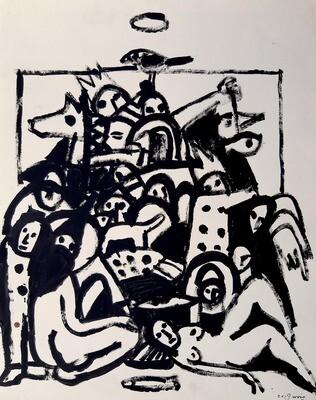 Ghylan Safadi - 'Pyramid of flesh'