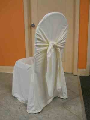 Scuba Chair Cover (Bella Ivory)