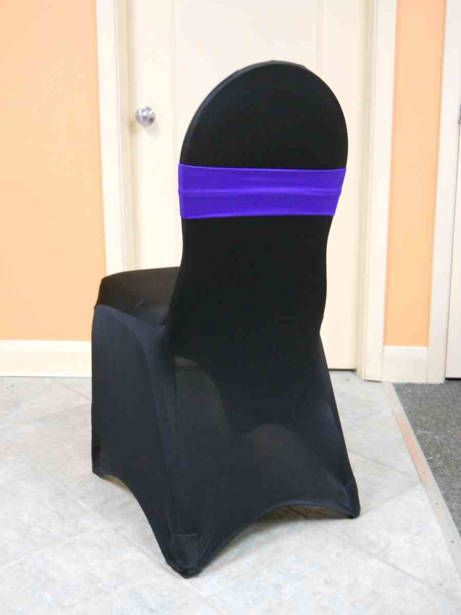 Spandex Chair Band (Purple)