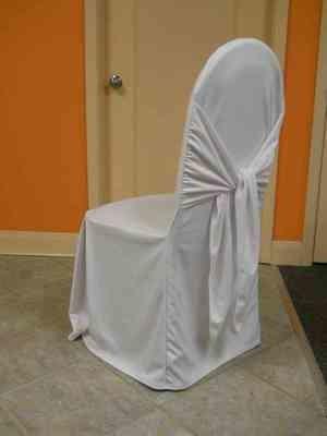 Scuba Chair Cover (Bella White)