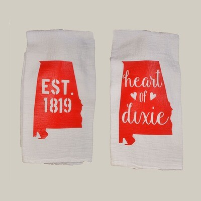 Alabama Hand Towels