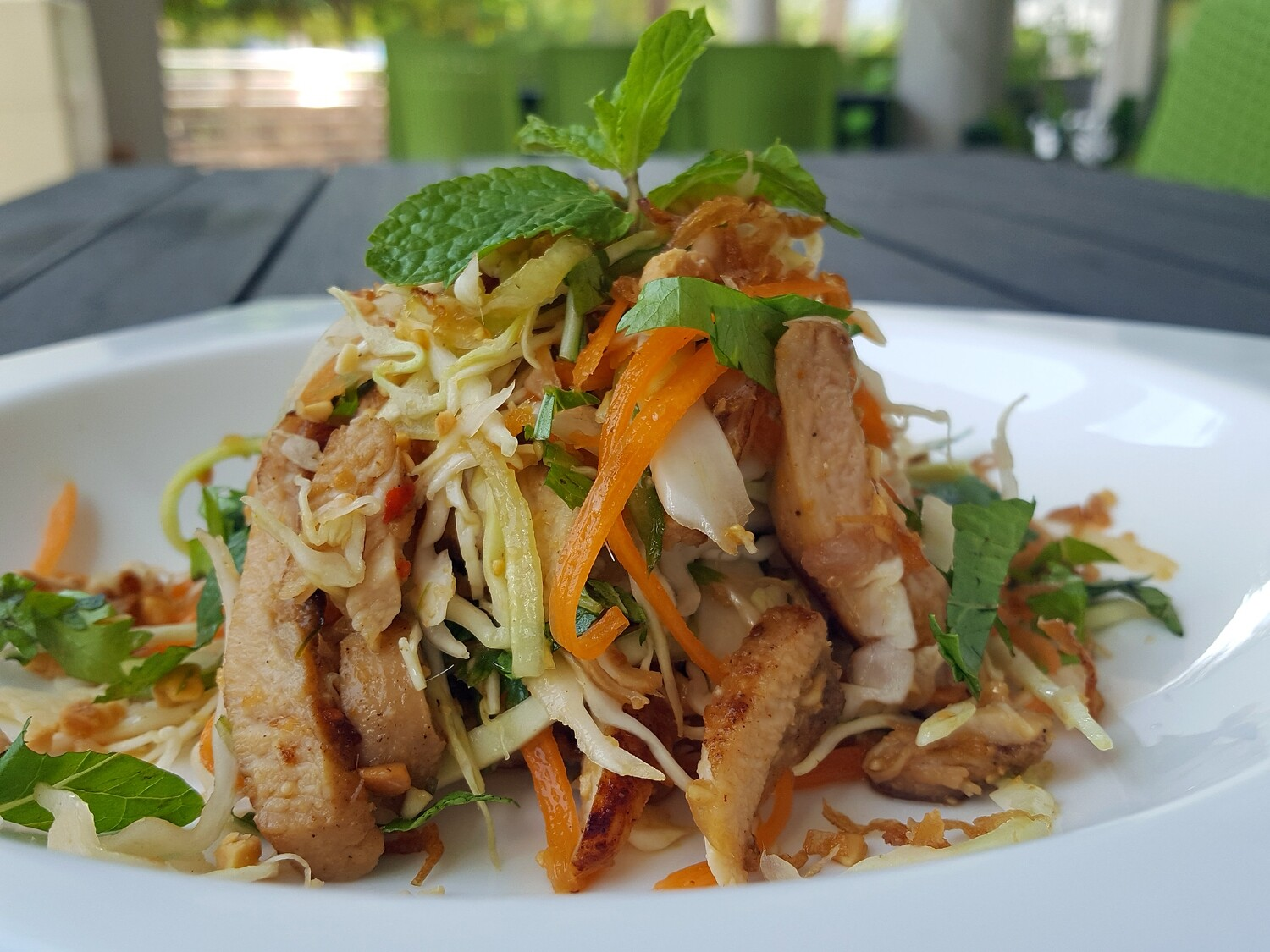(GOI GA) Grilled Chicken Salad