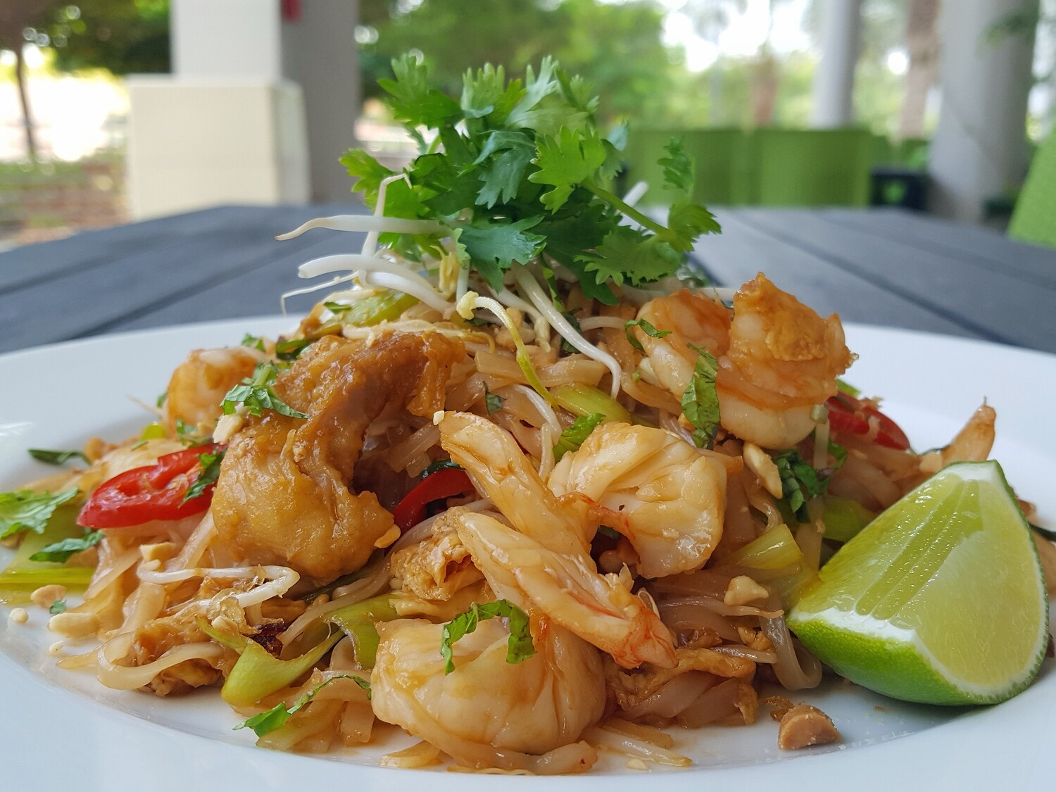 (PHO XAO TOM) Fried Noodle with Prawns