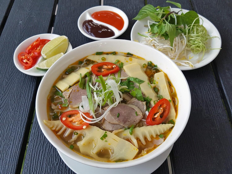 (BUN MANG VIT) Duck & bamboo Vermicelli Noodle Soup