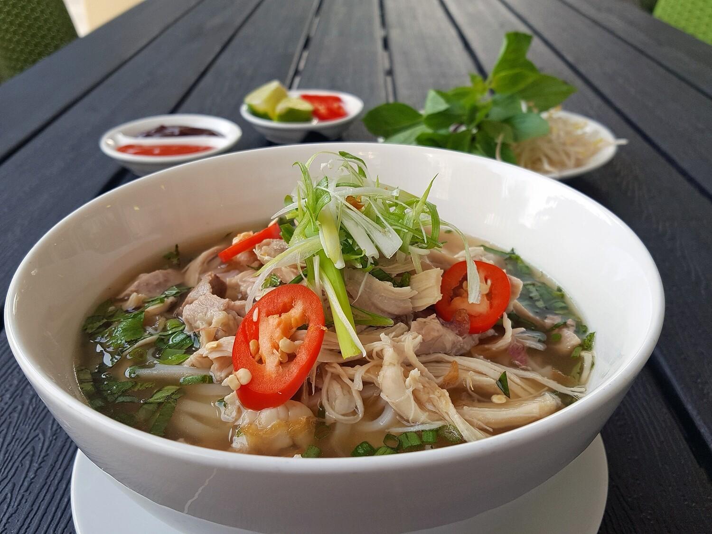 (PHO GA) Vietnamese Chicken Noodle Soup