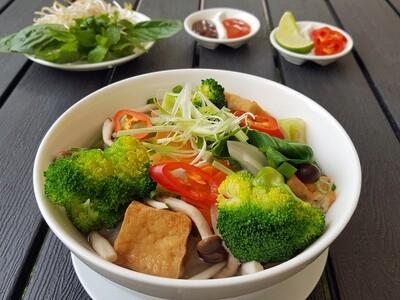 (PHO CHAY) Vegan Noodle Soup