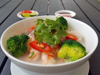 (PHO HAI SAN) Coconut Seafood Soup